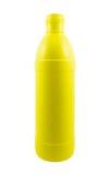 Bottiglie di plastica colorate Fotografie Stock