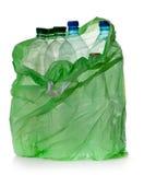 Bottiglie di plastica semplici Fotografia Stock Libera da Diritti