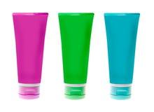 Bottiglie di plastica senza nome Fotografia Stock Libera da Diritti