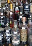 Bottiglie di porto Fotografie Stock