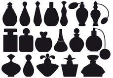 Bottiglie di profumo,   Fotografia Stock