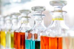Bottiglie di profumo arabe Immagini Stock Libere da Diritti