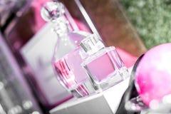 Bottiglie di profumo di lusso Fotografia Stock Libera da Diritti