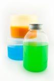 Bottiglie di salute e di bellezza Fotografia Stock