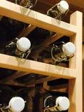Bottiglie di vetro vuote Immagine Stock Libera da Diritti
