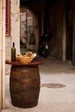 Bottiglie di vino Fotografie Stock