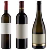 Bottiglie di vino Fotografia Stock Libera da Diritti