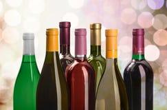 Bottiglie di vino Immagine Stock Libera da Diritti