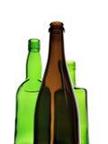 Bottiglie di vino Fotografie Stock Libere da Diritti