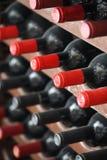 Bottiglie di vino Immagine Stock