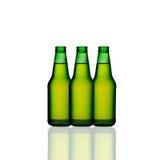 Bottiglie di vino verdi Fotografia Stock Libera da Diritti