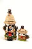 Bottiglie handmade rumene Fotografie Stock Libere da Diritti