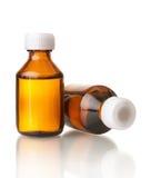 Bottiglie mediche Fotografie Stock