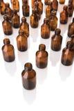 Bottiglie mediche Immagine Stock