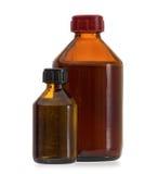 Bottiglie mediche Immagini Stock