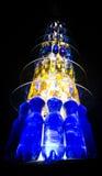 Bottiglie Scultpure a Reykjavik immagini stock