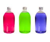 Bottiglie variopinte Fotografia Stock Libera da Diritti