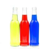 Bottiglie variopinte immagini stock libere da diritti