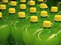Bottiglie verdi Immagine Stock