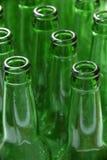 Bottiglie verdi Immagine Stock Libera da Diritti