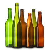 Bottiglie vuote Immagine Stock Libera da Diritti