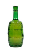 Bottle. Of white wine, isolated on white, clipping path included Stock Image