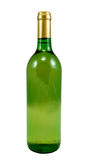 Bottle. Of white wine, isolated on white, clipping path included Stock Photography