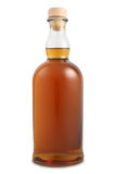 Bottle of alcoholic drink Royalty Free Stock Photo
