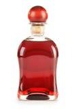 Bottle alcoholic product  on white Royalty Free Stock Photo
