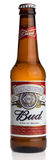 Bottle of American Budweiser lager beer Royalty Free Stock Image