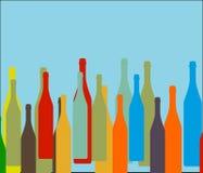 Bottle on background Royalty Free Stock Image