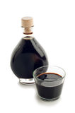 Bottle of balsamic vinegar Royalty Free Stock Photo