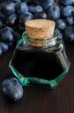 Bottle of balsamic vinegar Royalty Free Stock Photo