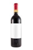 Bottle of barolo or barbaresco italian wine Royalty Free Stock Images