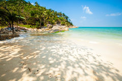 Bottle beach on Koh Phangan Stock Photography