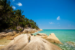 Bottle beach on Koh Phangan Stock Image