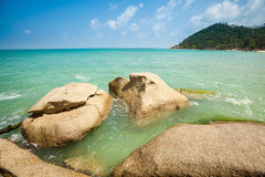 Bottle beach on Koh Phangan Royalty Free Stock Photo
