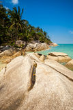 Bottle beach on Koh Phangan Royalty Free Stock Photos