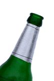 Bottle of beer. A green bottle of beer Royalty Free Stock Photography