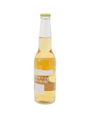 A bottle beer. Isolated bottle beer is on decorative Royalty Free Stock Photos