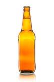 Bottle of beer. On white Stock Image