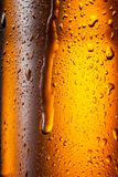 Bottle of beer. Abstract background Royalty Free Stock Photos