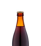 Bottle of beer close up Royalty Free Stock Photos