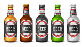 Bottle beer Royalty Free Stock Images