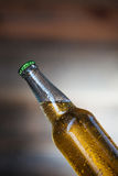 Bottle with beer Stock Photos