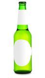 Bottle of beer isolated Royalty Free Stock Photo