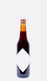 Bottle of beer isolated Royalty Free Stock Photography