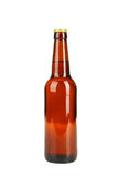 Bottle of beer isolated on white. Royalty Free Stock Image