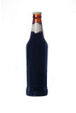 Bottle of beer isolated on white Royalty Free Stock Image