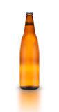 Bottle of beer isolated Royalty Free Stock Images